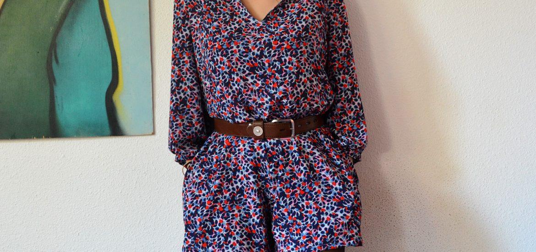 Combishort Jazz de Ready To Sew photo de mise en avant sur le blog