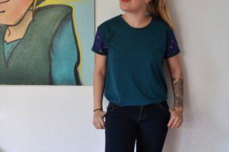 Tee shirt Jeanne de Ready to Sew